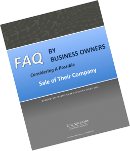 FAQ By Business Owners Considering A Possible Sale Of Their Company